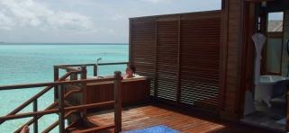 Olhuveli Beach resort - vodná vila s jacuzzi