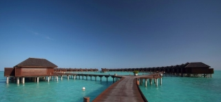 Olhuveli Beach resort - vodné vily