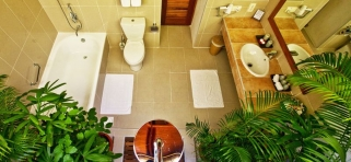 Deluxe vila - kúpeľňa
