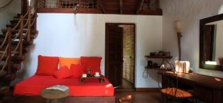Crusoe vila, izba