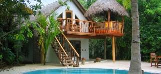 Crusoe vila s bazénom