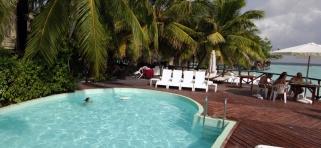 Thulhagiri Island resort - bazén