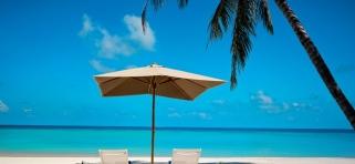 VELA Private Island - výhľad z plážovej vily