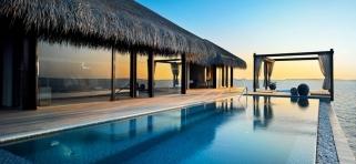 Velaa Private Island - Ocean dom s bazénom