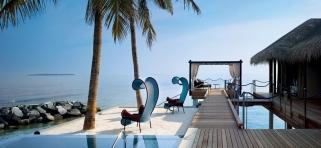 Velaa Private Island - romantická rezidenca s bazénom