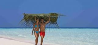 Vilamendhoo - pláž