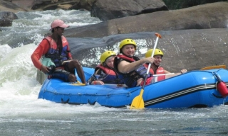 Rafting, Srí Lanka