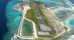 Maledivy dovolenka - letisko Maledivy