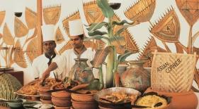 Maledivy dovolenka - jedlo