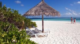 Pláže Maledivy
