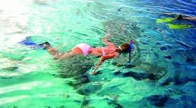 Šnorchlovanie Maledivy