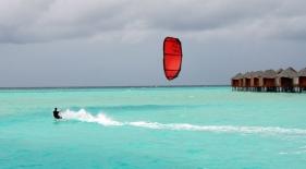 Kitesurfing Maledivy
