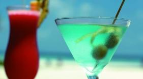 Koktejl na Maledivách