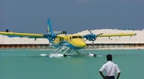 Hydroplán Maledivy