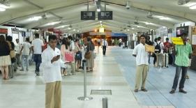 Príletová hala Maledivy