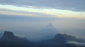 Adamova hora - tieň