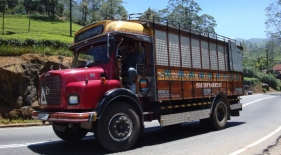 Nákladní auto na Srí Lance
