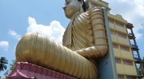 Nejvyšší sedící Buddha, Srí Lanka