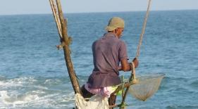 Rybár na koloch