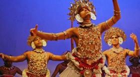 Tanec v Kandy